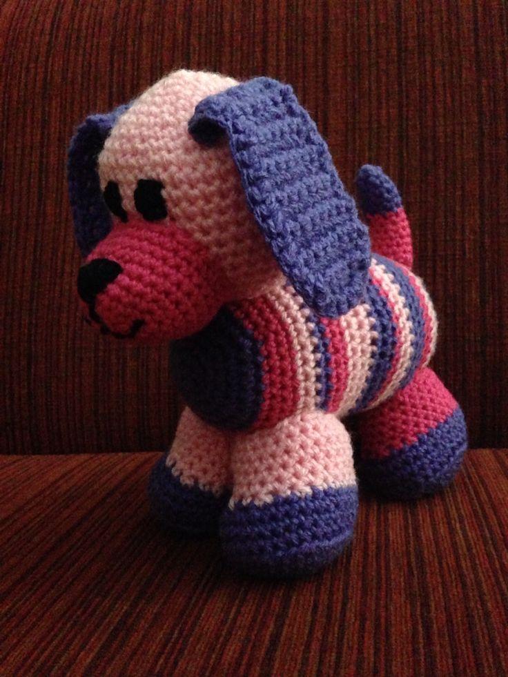 Stripey Patchwork Puppy