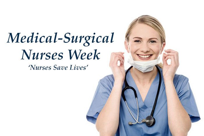 Happy Med-Surg Nurses week, practicing one of the most diverse nursing specialties of their field. American Traveler Med-Surg travel nurses.