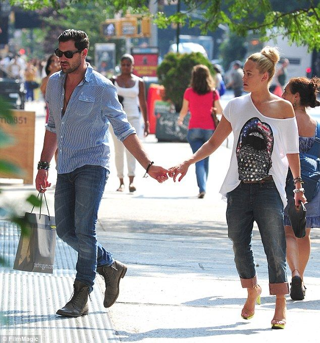 Together again: Peta and Maksim previously dated from 2012 to 2013, but have recently rekindled their romance