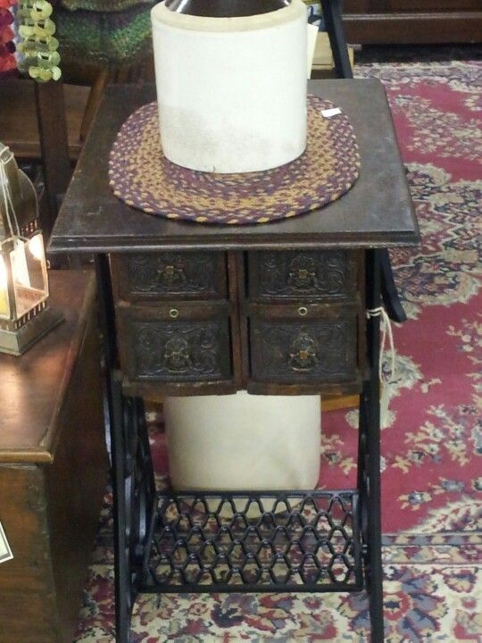 17 Best Images About Sewing Machine Stand On Pinterest