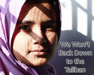 "The Taliban tried to silence this 14 year old girl by shooting her point -blank in the head on a school bus.  Why?  Because she advocates education.  She is recovering and vows not to be silenced. Now that's what I call courage!  ""If this new generation is not given pens, they will be given guns by terrorists."" -- teenage Pakistani education advocate Malala Yousufzai"