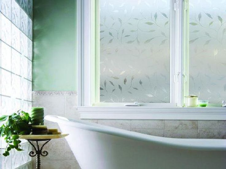 Lovely Incredible Bathroom Window Film With Amazing Design