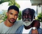 ~ In honor of Father's Day ~   SHEMAR MOORE and his father, Sherrod Moore.