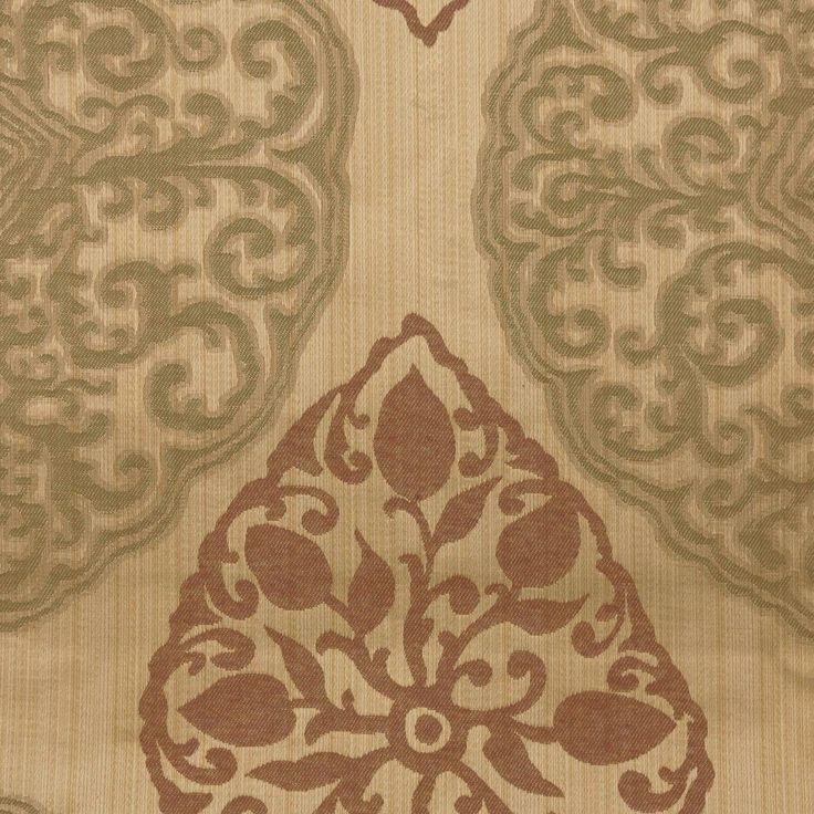 Curtains in Tarfaya Fabric - Mulberry (3097/314) - Prestigious Textiles Berber Fabrics Collection