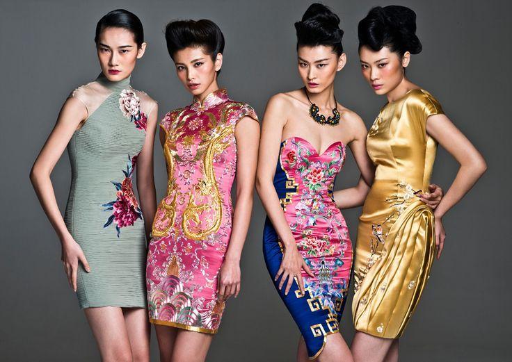 Азиатский стиль в одежде. Одежда в этом стиле на столько яркая, что не требует дополнительных аксессуаров. Уместными могут быть украшения в волосы или серьги