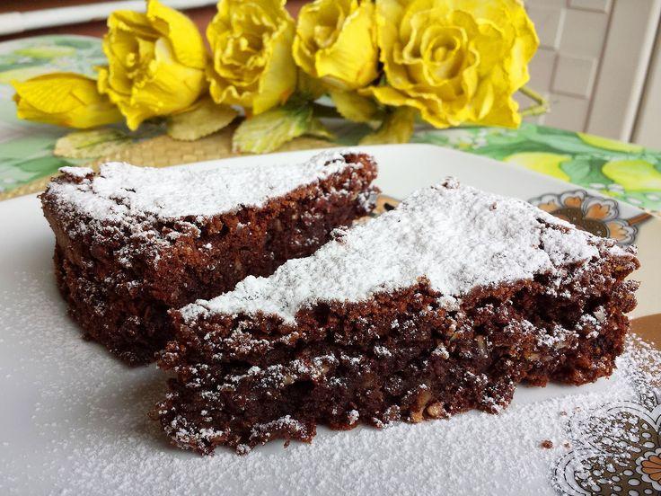 Torta Caprese - Le video ricette di Lara