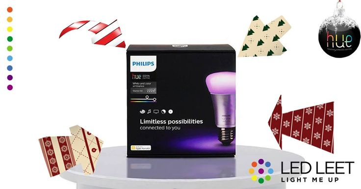 The perfect xmas gift idea. Smart, innovative, modern, cool. Philips Hue.