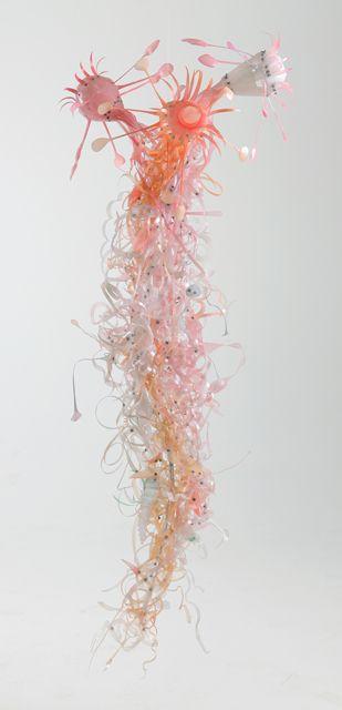 Aurora Robson's sculptures from found plastic debris