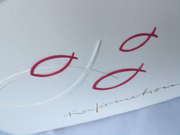 Glückwunschkarten - Konfirmation - ein Designerstück von Love-Cards-Paper bei DaWanda