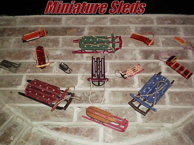 Miniature Sleds from store.sledriding.com   #Sleds #Sledding #ExperienceWinter