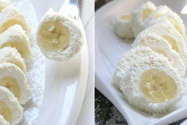 Najrýchlejší recept na svete. Obalené banány v kokose dostanú každého a máte ich hotové za pár minút
