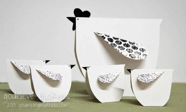 StampingMathilda: Black & White - 139 Find a template under tutorials