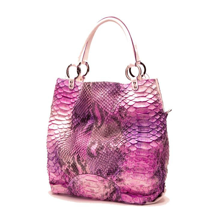 The BLUSH Python tote (not available in CA) by JACOB TAYLOR NEW YORK. *by Appointment or Special Order Only *Rare and Exotic Color *For Serious Inquiries, Email Us at: jacobtaylornewyork@gmail.com Website: www.jacobtaylornewyork.us Price: Email For Details