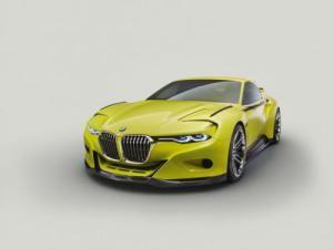 BMW has unveiled the new 3.0 CSL Hommage concept at the Concorso d'Eleganza Villa d'Este