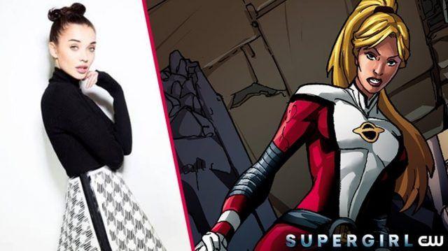 Bollywood star Amy Jackson has been cast as Saturn Girl on Supergirl