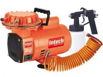 Compressor de Ar Intech Machine 450W 110L - Windjet