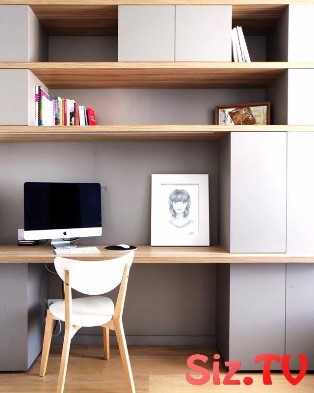 Bureau dans une entr e Bureau dans une entr e #bureau #dans #diy_furniture_offic…