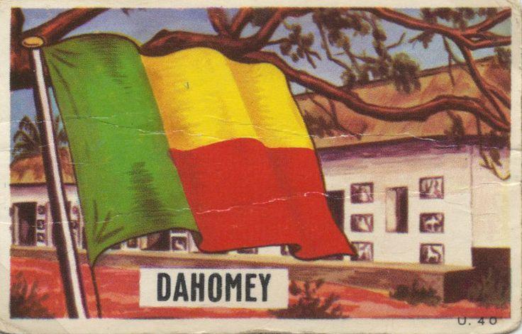 Benin -//- flags all nations by dandy gum - Capitale Cotonou Population 10.323.000 (2013) Superficie 112.622 km2 Indépendance 1. 8. 1960