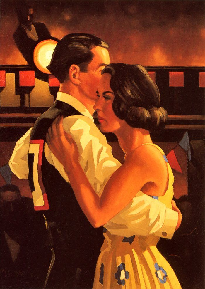 Lovers and Others Strangers | Jack Vettriano, 1951