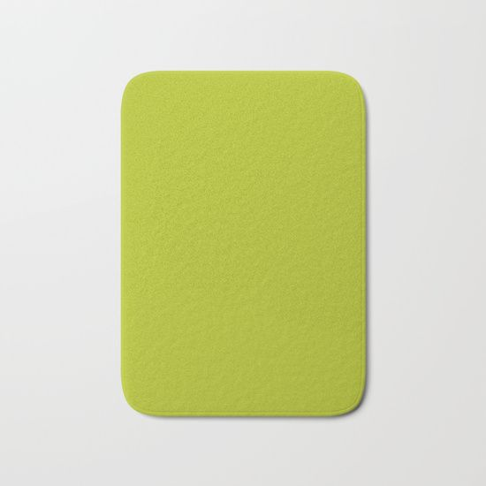 Acid Green Bath Mat
