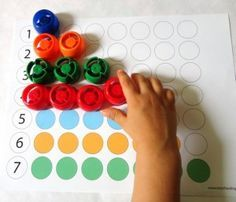 Activités tranquilles pour les tout-petits - printables de correspondance des couleurs