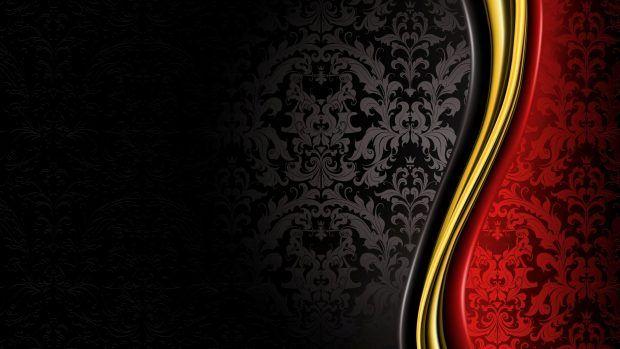 Black Elegant Backgrounds Hd Red Wallpaper Black Background Wallpaper Gold Abstract Wallpaper