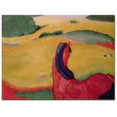 "Found it at Wayfair - ""Horse in a Landscape, 1910"" Canvas Art"