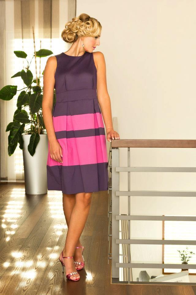 simone weghorn modedesign vogelfrei fashion kleid etuikleid hohe taille violett pink. Black Bedroom Furniture Sets. Home Design Ideas