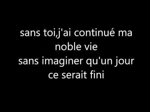 """curso francés poésie : """" regrets"""""""