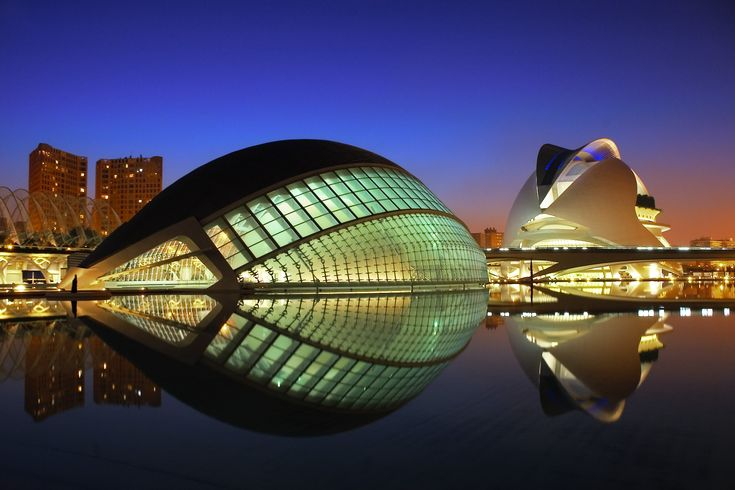City of Art and Sciences In Valencia Spain