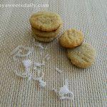 Mini Coconut Almond Cookies Vegan and gluten free