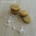 Mini Coconut Almond Cookies Vegan and gluten free
