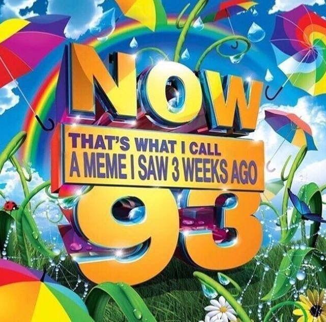 Including such hits like Caveman Spongebob + mom's spaghetti