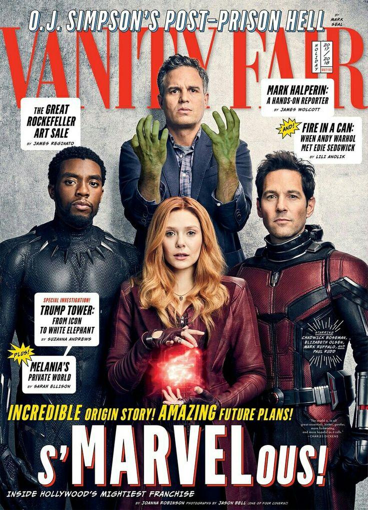 The Avengers: Infinity War Pt 1 Vanity Fair cover, 2017