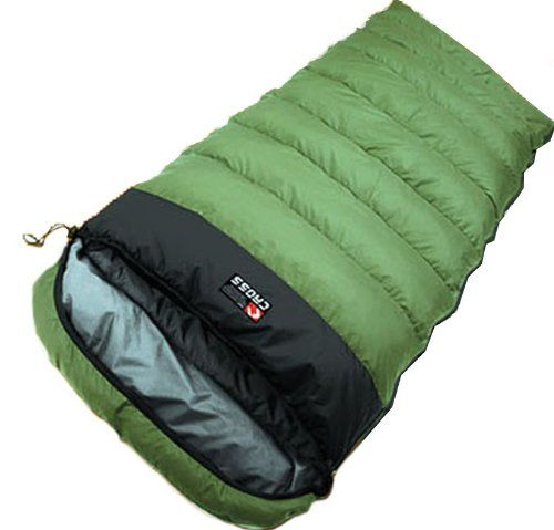 "Cross 32-83"" -15 Degree C,0 Degree F Cold Sleeping Bag Duck Down Camping Hiking Outdoor 3 Season Quilt, Gift Air Pillows Cross,http://www.amazon.com/dp/B00HZF2GI2/ref=cm_sw_r_pi_dp_svSftb0JW1C1Q7GE"