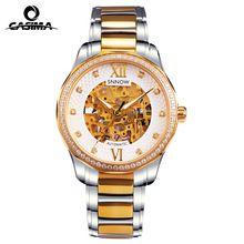 Luxury Brand watches men SNNOW series automatic mechanical men watches top Skeleton Fashion clock waterproof 100mCASIMA#8805(China (Mainland))