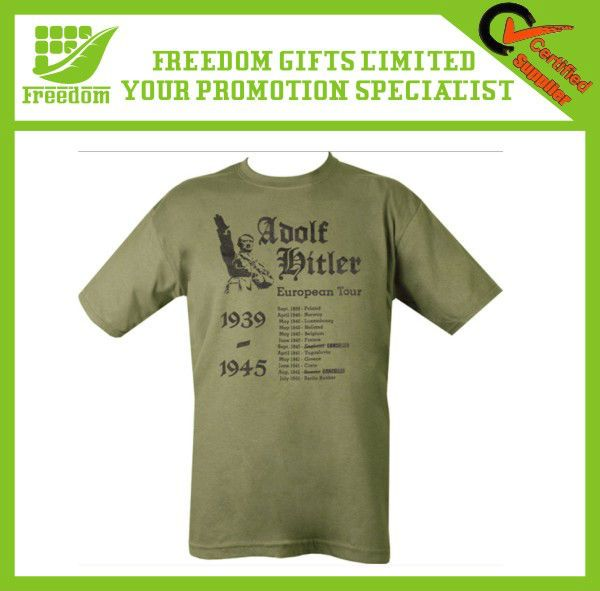 Cheap Give Away Show Your Logo Custom T Shirt Printing
