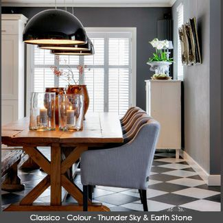 Classico Chalk Paint wall in the colour - Thunder Sky and Earth Stone - #thundersky #earthstone #pureandoriginal #naturalpaint #natural #paint #chalkpaint #classico #interiordesign #interiorpaint #interiordesign #interiorinspiration #decorating #painting #vocfree #nontoxic