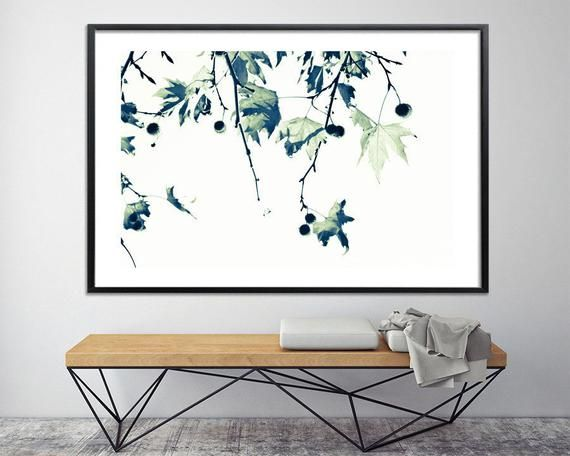 Large Wall Art Black And White Canvas Print Large Botanical Etsy Tree Wall Art Botanical Wall Art Living Rooms Large Canvas Art