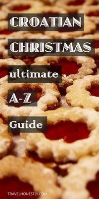 Croatian Christmas | Croatian Christmas cookies | Christmas in #Croatia