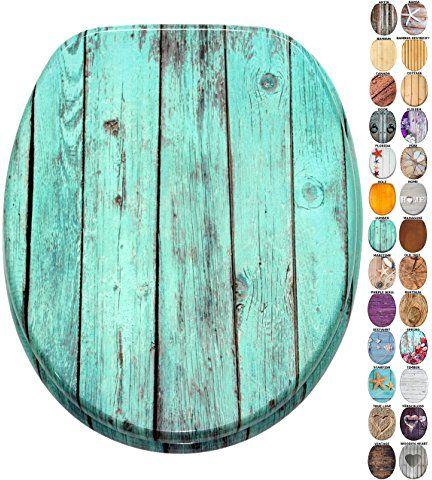 WC Sitz mit Absenkautomatik, viele schöne Holz WC Sitze zur Auswahl, hochwertige und stabile Qualität (Lumber)
