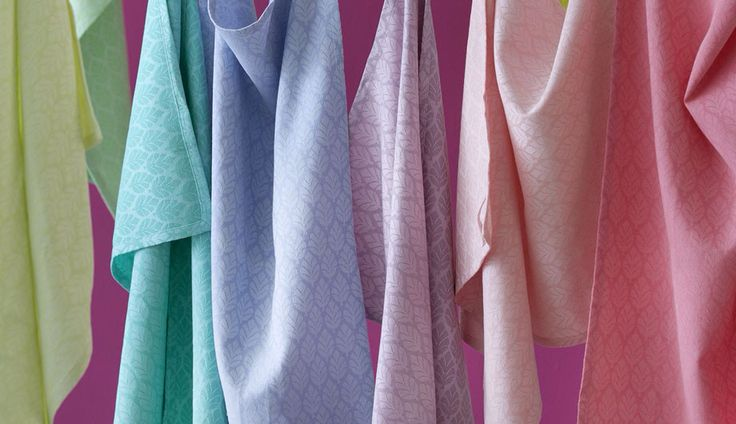 Jacquard tea towels