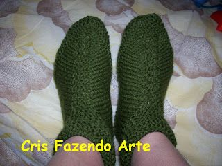 Olá pessoal... Tenho visto que meus sapatinhos fizeram um grande sucesso. Devido ao grande número de pedidos de receitas resolvi postar as r...
