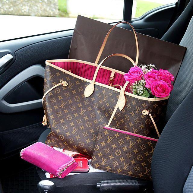 louis-vuitton-neverfull-bag-monogram-pink-fashionhippieloves-blog