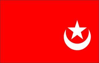 Habshi Moorish Flag Of Mughal India.Murud Janjira.