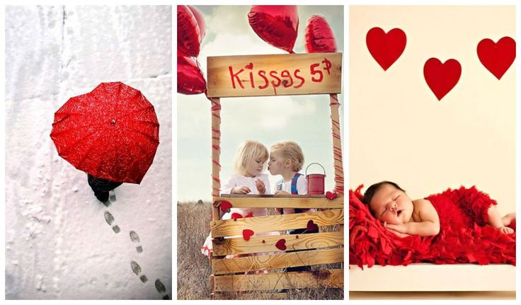 Look at the cutest children Valentine's day photos and get inspired. Get your camera and start shooting. The kids are the biggest inspiration for any paren
