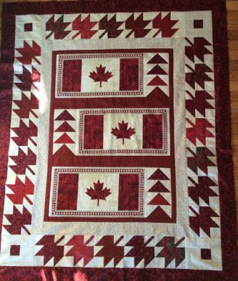 The Cuddle Quilter: Quilt of Valour