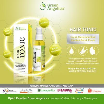 Menariknya, Hair Tonic obat rambut botak Green Angelica telah dilengkapi dengan berbagai bahan alami yang komposisinya sangat aman, yakni ashitaba keiskei, glutahtione, aloe vera dan apple stemcell. Formula aktif yang dikandungnya mampu meresap hingga ke akar untuk memperbaiki rambut yang mengalami kerusakan.