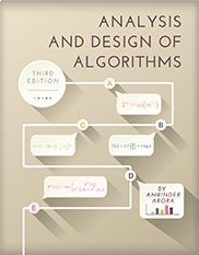 Analysis and Design of Algorithms (Third Edition)  By Amrinder Arora    This text provides a structured view of algorithm design techniques in a concise, easy-to-read manner. It covers divide and conquer, greedy, dynamic programming, branch and bound, and graph traversal techniques. The third edition includes a new section on polynomial multiplication, as well as additional exercise problems, and an updated appendix.