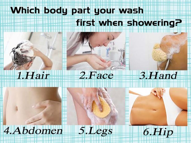 What Your Showering Procedure Says About You - BUZZQUIZ M<3